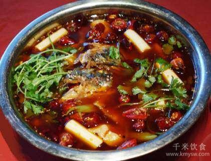 古有东坡冷锅鱼 实为渔家片片鱼---千米饮食网