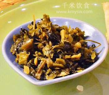 宁波雪里红典故传说---千米饮食网