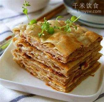 """""""千层饼""""的来历---千米饮食网"""