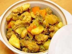 咖喱焖鸡的做法及介绍---千米饮食网