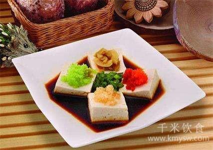 陕西四喜豆腐的做法及介绍---千米饮食网