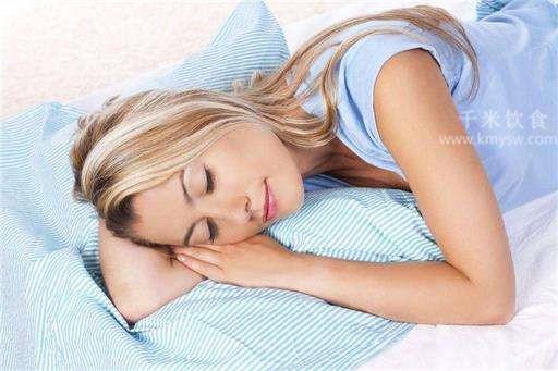 睡眠养生要做到这四点---千米饮食网