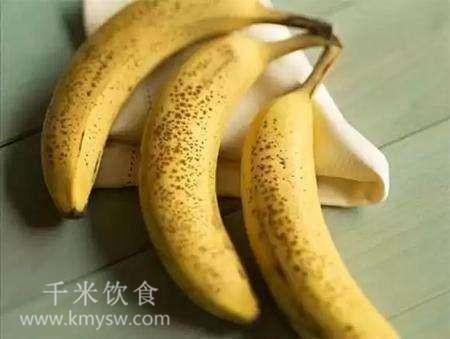 香蕉皮有黑点还能吃吗?香蕉怎么保存不变黑?---千米饮食网