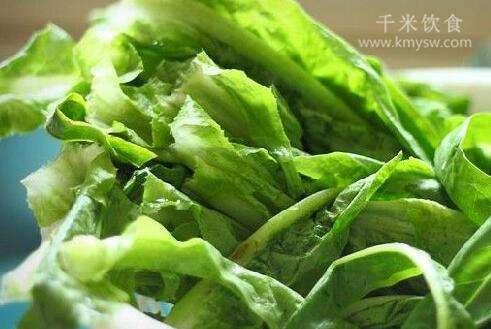 莴笋叶子能生吃吗?莴笋叶子怎么做?---千米饮食网