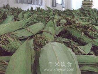 粽叶是什么叶子?包粽子的叶子是什么植物图解---千米饮食网