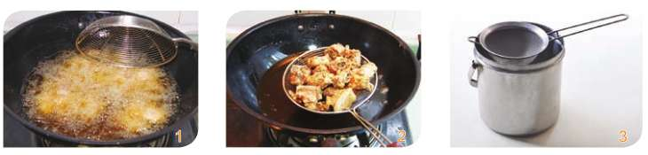 烹制煎炸类菜肴时,如何把握火候?