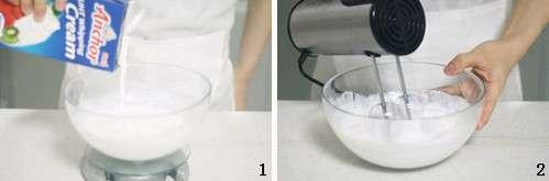 奶油打发技巧图文教程---千米饮食网
