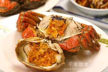 秋季最美大闸蟹的吃法以及功效