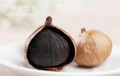 黑蒜的营养价值和功效及作用以及搭配食用禁忌
