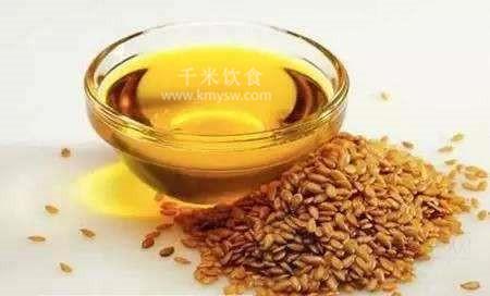 亚麻籽油的功效与作用及食用方法---千米饮食网