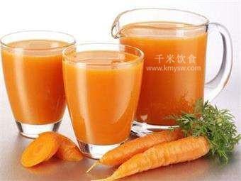 胡萝卜素的功效与作用禁忌及百科常识---千米饮食网