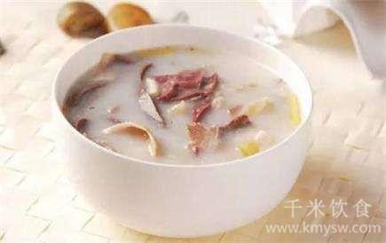 吃饭先喝汤是养生养胃秘方---千米饮食网