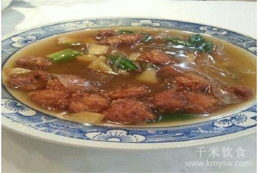 素氽汤的做法及介绍---千米饮食网