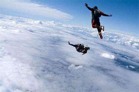 极限跳伞运动的升空方式介绍---千米饮食网