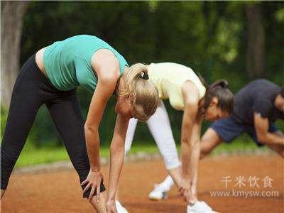 伸展运动也长肌肉---千米饮食网
