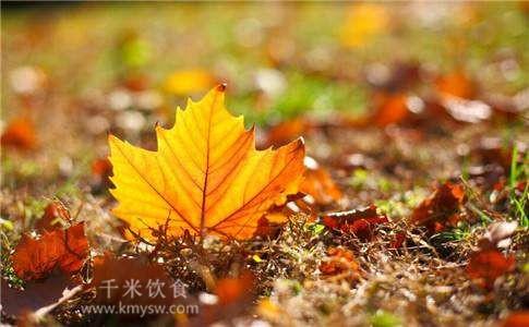 秋季养生的八个要点