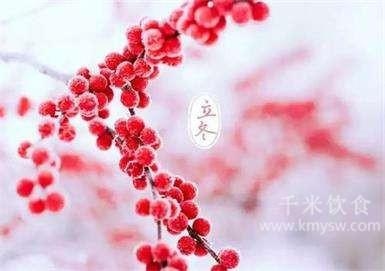 立冬丨朔风起,万物藏,一年中最冷的时候来了---千米饮食网