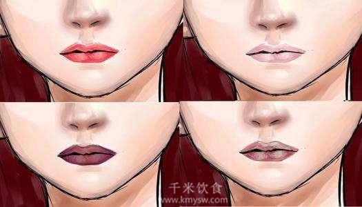 身体健康状况,唇色告诉你---千米饮食网