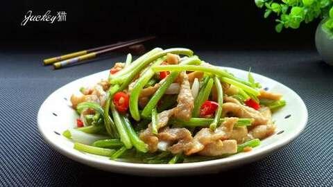 清爽家常下饭菜---薯藤炒肉丝,薯藤炒肉丝怎么做的?