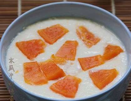木瓜牛奶炖蛋怎么做?木瓜牛奶炖蛋的做法