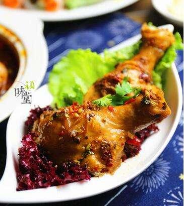 野山椒豆豉蒸鸡腿的做法,野山椒豆豉蒸鸡腿怎么做的?