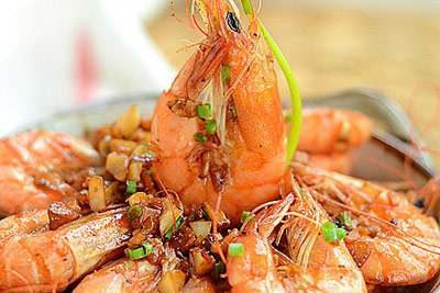 蒜香基尾虾的做法,蒜香基尾虾怎么做的?