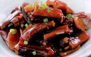 红焖鳝鱼的做法及介绍