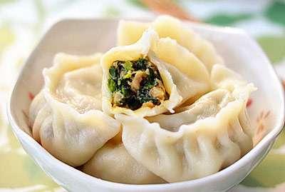 家常荠菜水饺的做法及介绍---千米饮食网