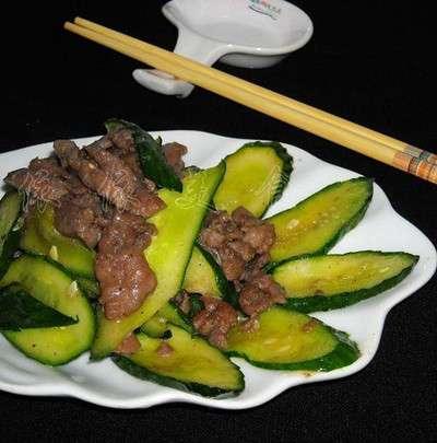 家常青瓜炒牛肉的做法,家常青瓜炒牛肉怎么做?