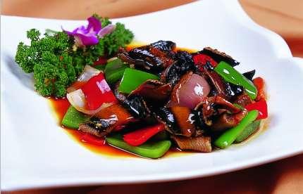 豉椒鳝片的做法及介绍---千米饮食网