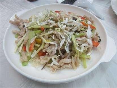 岭南五彩炒蛇丝的做法及介绍---千米饮食网
