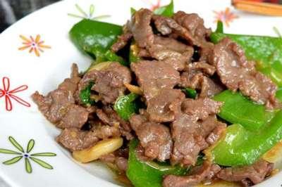 牛肉炒灯笼椒的做法,牛肉炒灯笼椒怎么做好吃