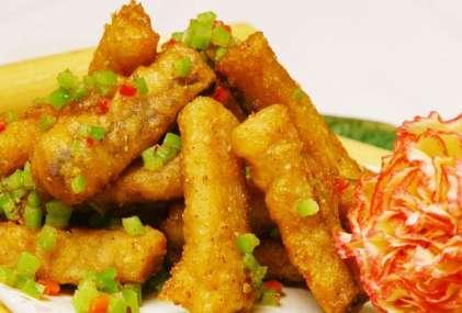 椒盐鱼条的做法,椒盐鱼条怎么做好吃