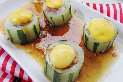 酿黄瓜的做法,酿黄瓜怎么做好吃