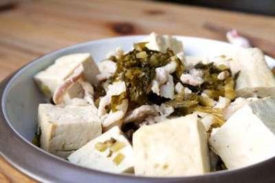 雪菜焖豆腐的做法,雪菜焖豆腐怎么做好吃