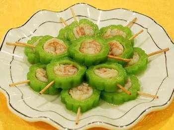海鲜酿苦瓜的做法,海鲜酿苦瓜怎么做好吃