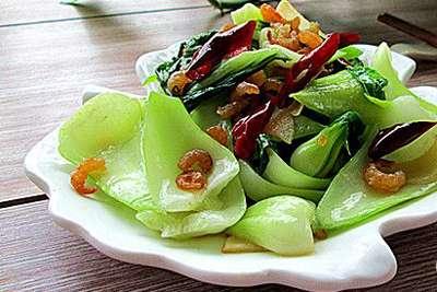 海米炝油菜的做法,海米炝油菜怎么做好吃