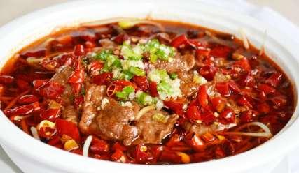 诞生于明清时自贡盐场的水煮牛肉---千米饮食网