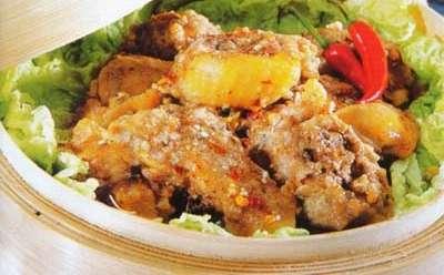 荷叶粉蒸鸡的做法,荷叶粉蒸鸡怎么做好吃