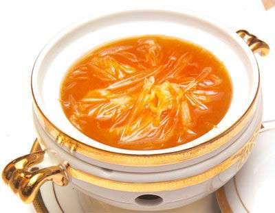 蟹黄鱼翅的做法及介绍---千米饮食网