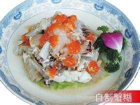 糊蟹带馓的做法,糊蟹带馓怎么做好吃