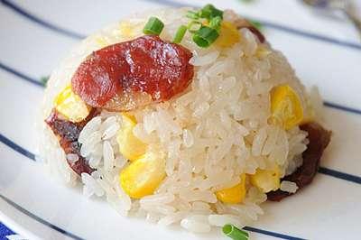 腊味糯米饭的做法,腊味糯米饭怎么做好吃