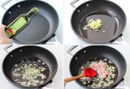 麻婆茄子丼的做法步骤2