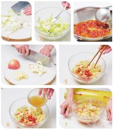 酸辣白菜的做法及介绍---千米饮食网
