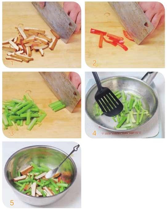 芹菜拌香干的做法及介绍---千米饮食网