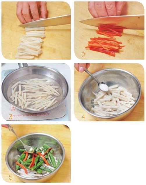 橄榄油拌双脆的做法及介绍---千米饮食网