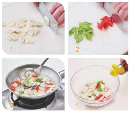 尖椒拌口蘑的做法及介绍---千米饮食网