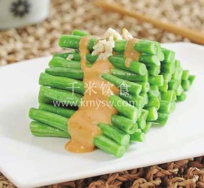 麻汁豆角的做法及介绍---千米饮食网