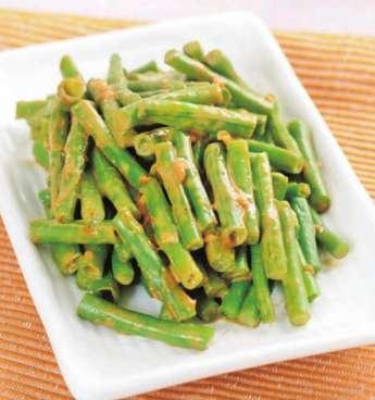 麻汁豇豆的做法及介绍---千米饮食网