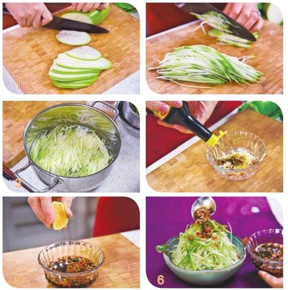 酸汤葫芦丝的做法及介绍---千米饮食网